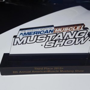 3rd Place @ American Muscle car show